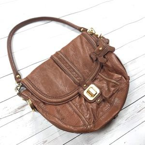 Juicy Couture Brown Leather Handbag Purse